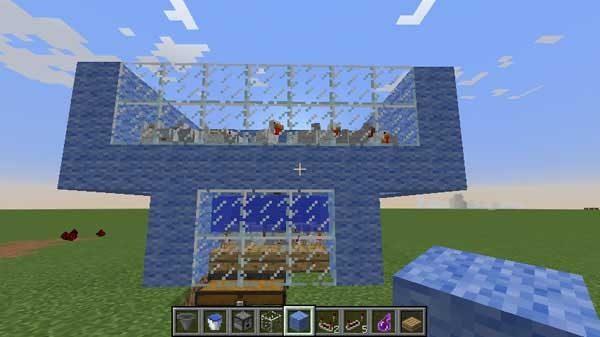 全自動鶏肉製造機の全体像