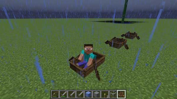 ボート上の連続移動