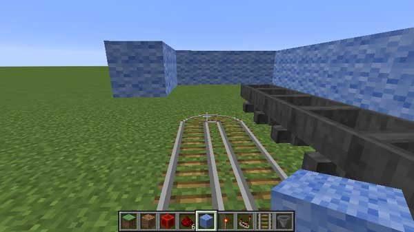 畑の枠のブロック