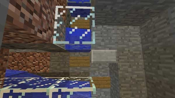 看板と水の設置方法