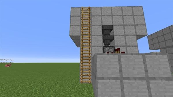 はしごの設置
