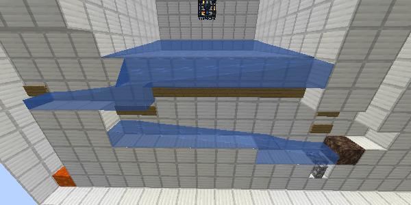 水路の水の流れ