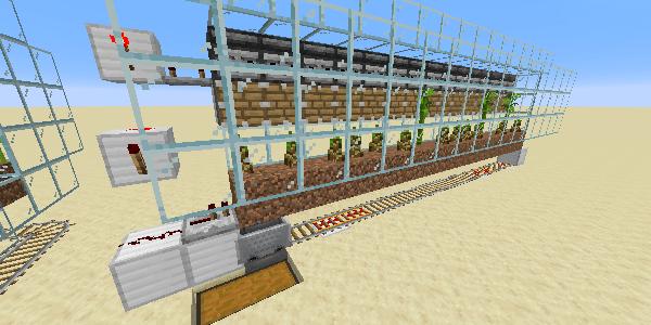 竹の自動収穫機