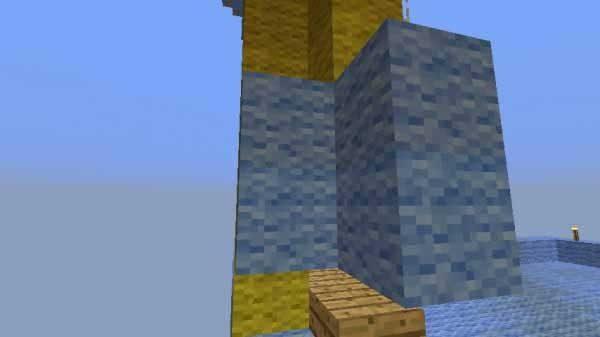 隙間をふさぐためのブロック