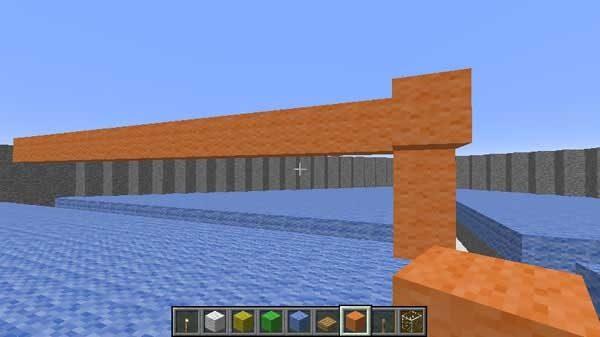 第2層の床