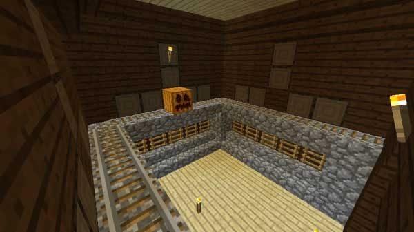 レールとはしごの部屋