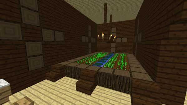 小麦畑の部屋