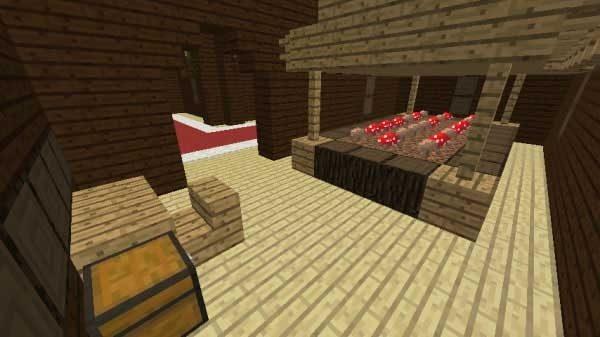 キノコの部屋