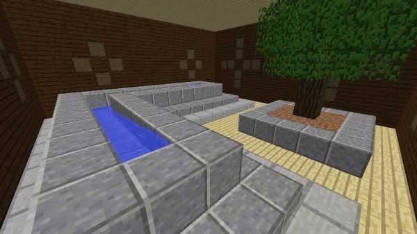 水と木の部屋