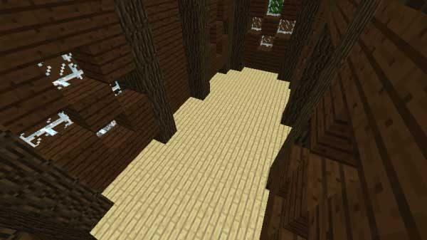 屋根裏のある部屋