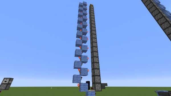 ドロッパー式アイテムエレベーター完成図