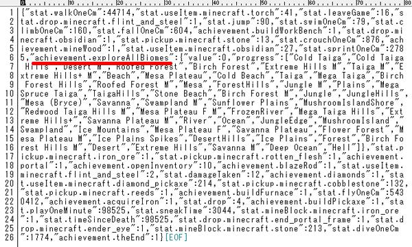 JSONファイルの中身