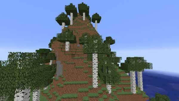 白樺の森の丘M