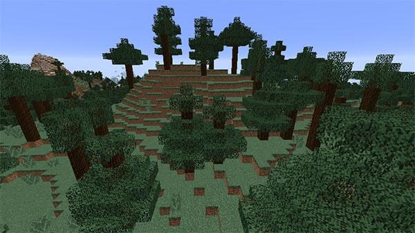 タイガの丘陵