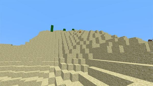 砂漠の丘陵
