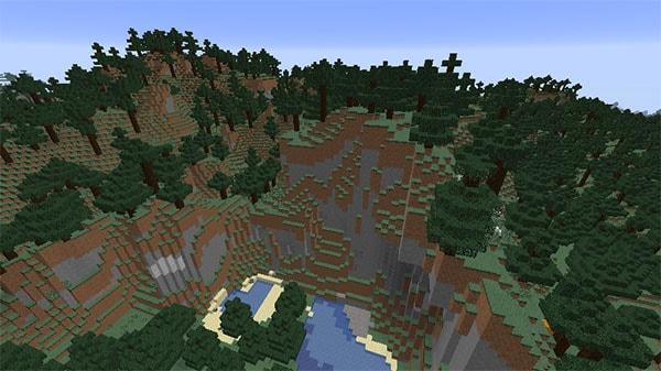 タイガの山
