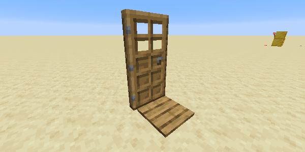 感圧板で開くドア