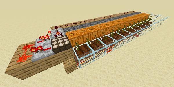 カボチャ全自動収穫機