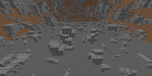 石炭鉱石の散らばり