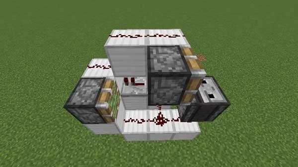 丸石製造機の回路