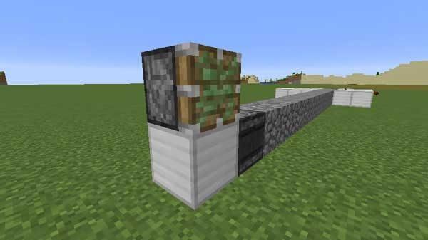 信号を受け取るブロックと粘着ピストン