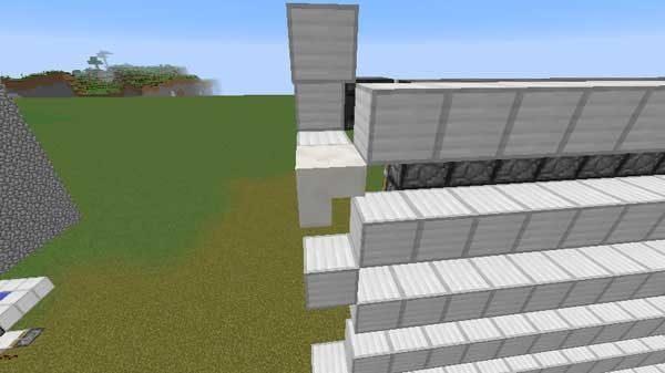 逆さの階段ブロック