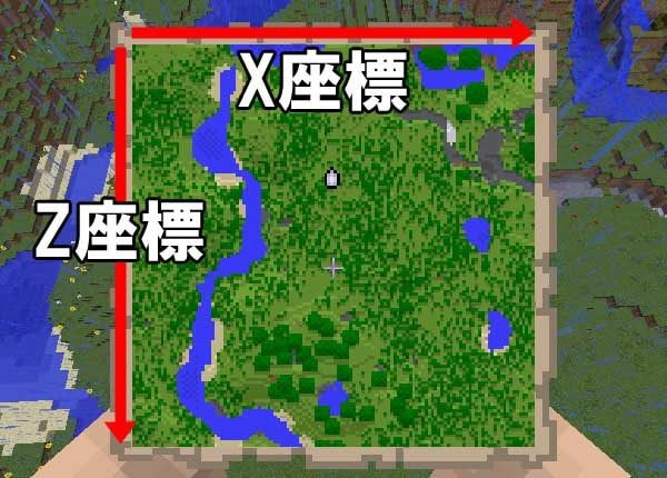 地図と座標の関係