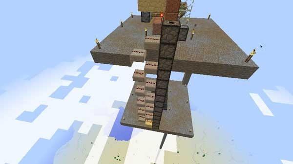 ドロッパーに信号を伝えるハーフブロック