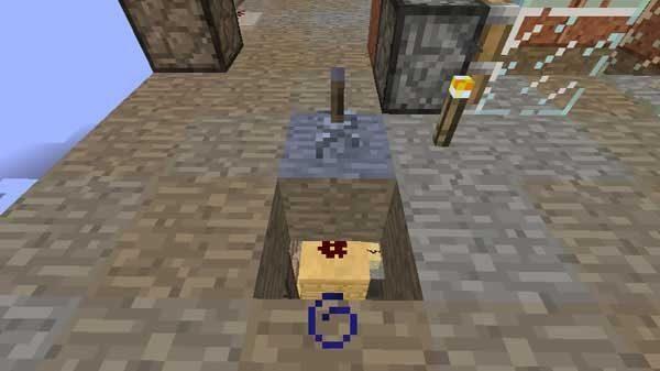 床の下への回路
