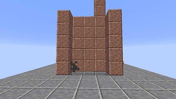 積み上げられたブロック