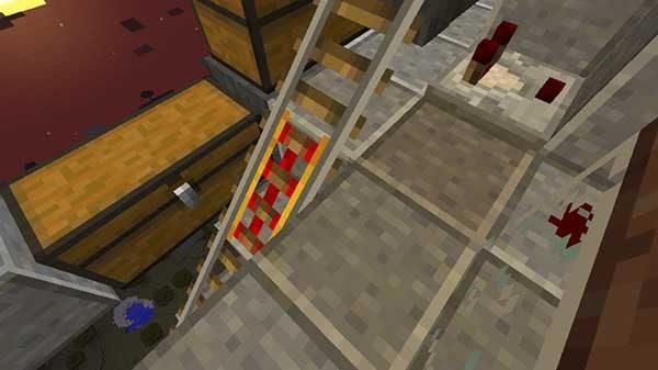 トーチの上を塞ぐブロック