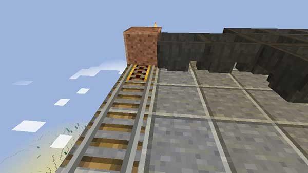 パワードレールとブロック