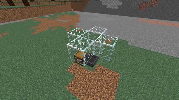 モンスターを捉えるためのブロック