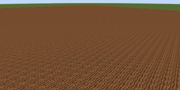 生成された耕地