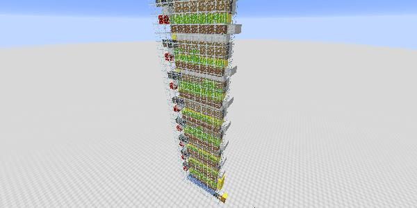 何層も重ねられたサトウキビ畑