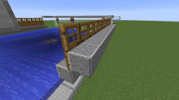 日照量の差を作るためのブロック