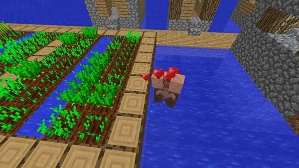 繁殖モードの村人