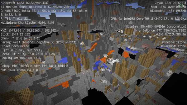 地下の廃鉱