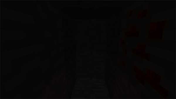 松明から12マス先の暗さ