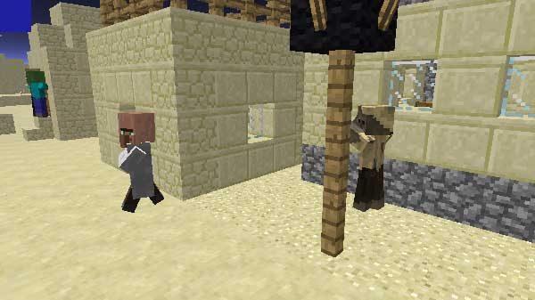 村を襲うハスク