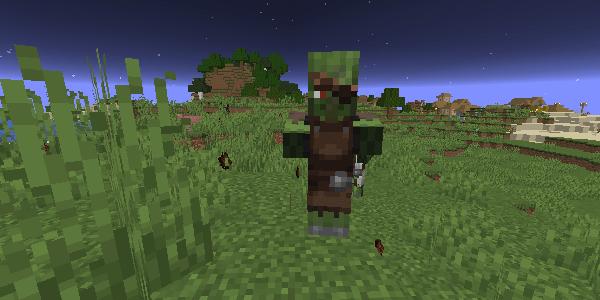 村人ゾンビの服装