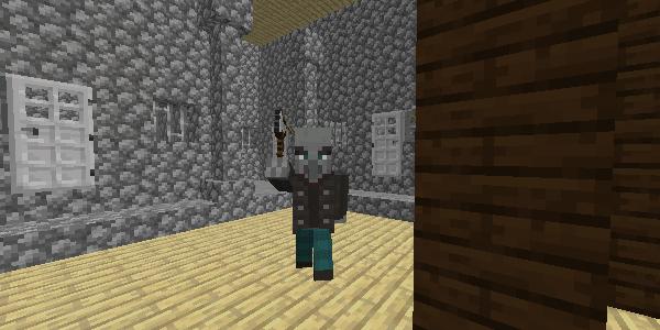 鉄の斧を振り上げたヴィンディケーター