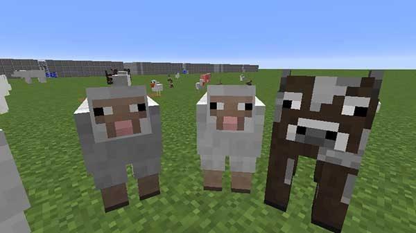 マインクラフトの動物たち