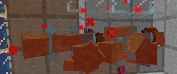 治癒のスプラッシュポーションで倒されるゾンビ