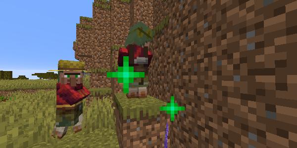 取引時の緑のキラキラ