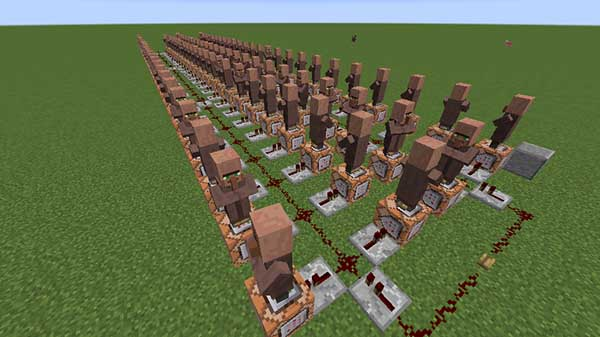 100人の村人