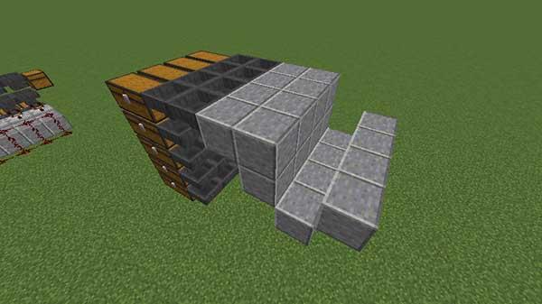 土台のブロックの設置