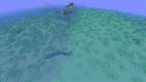 ぬるい海洋と暖かい海洋