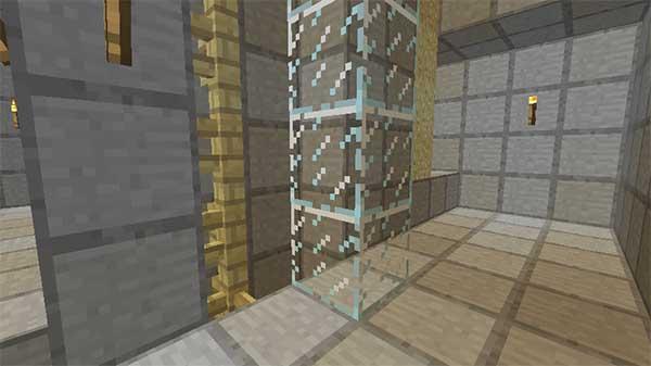 ガラスブロックの設置位置