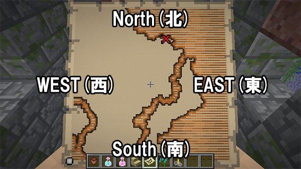 地図の方角